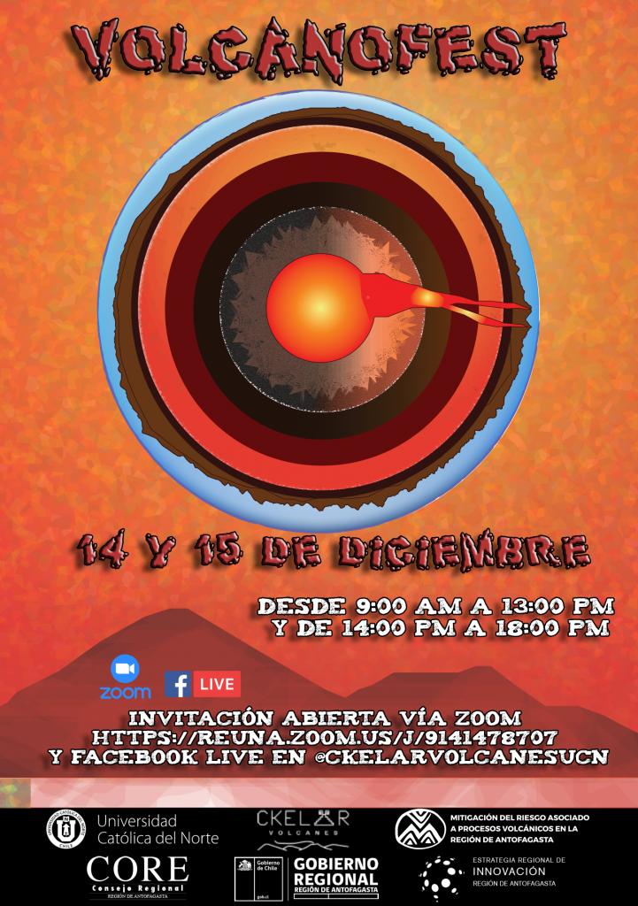 """""""VolcanoFest"""": la primera feria sobre vulcanología en Antofagasta abierta a todo público"""