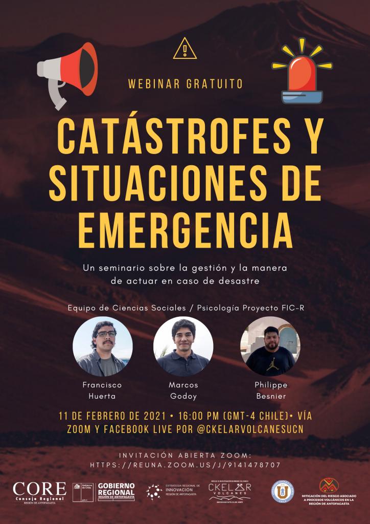 Revive el seminario de psicología: «Catástrofes y situaciones de emergencia»