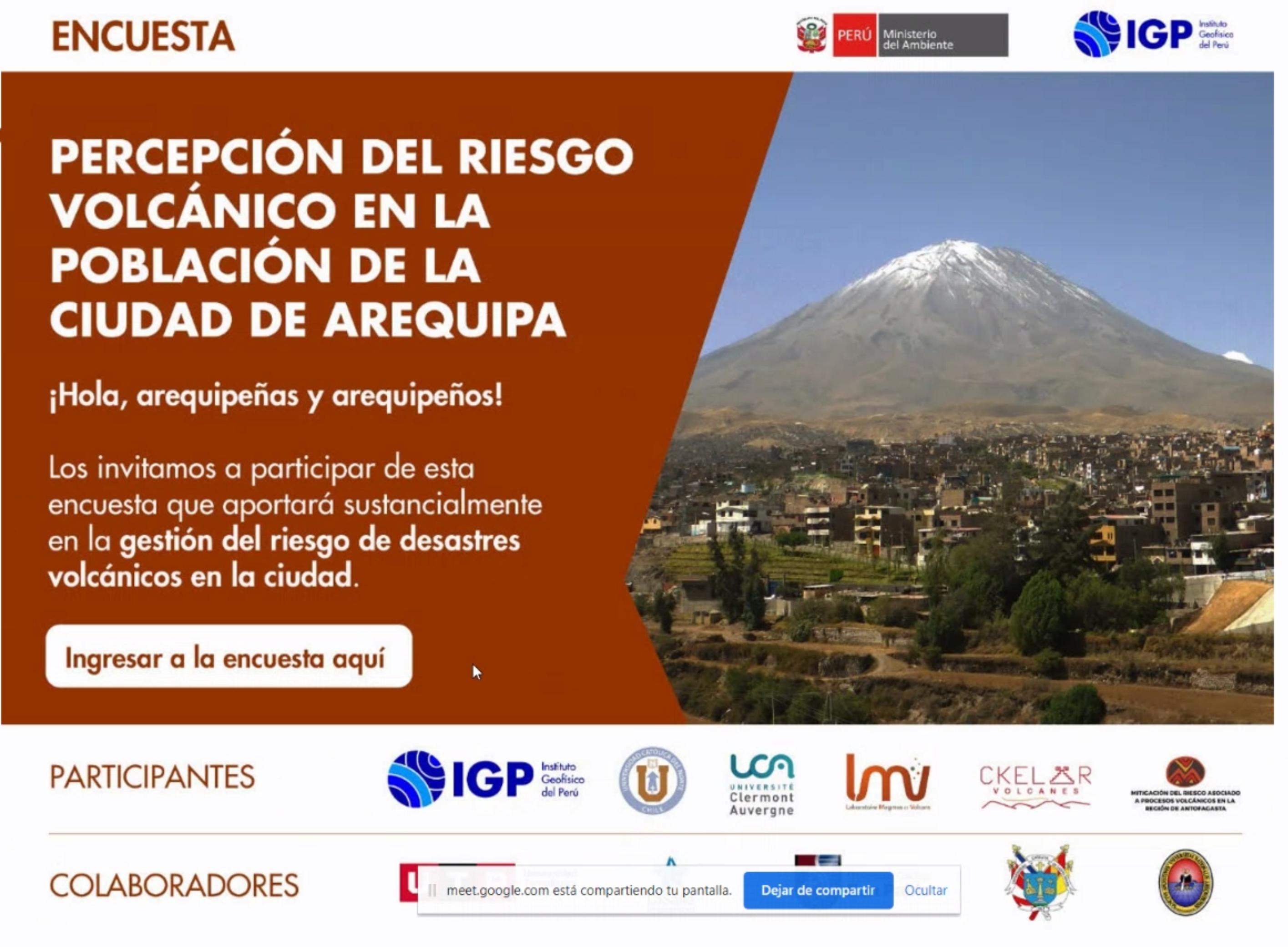 Ckelar Volcanes colabora en elaboracion de encuestas de percepción de riesgo volcánico para las comunidades altiplánicas
